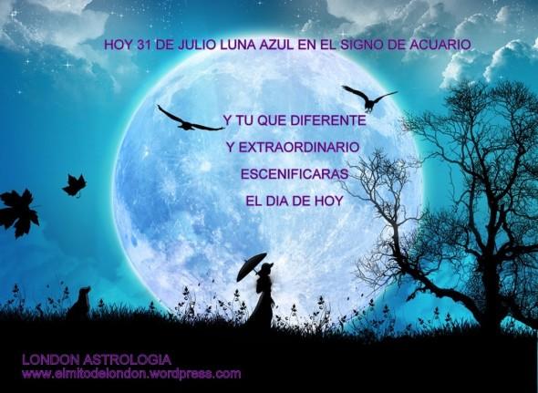 Julio 2015 elmitodelondon 39 s blog for Que luna tenemos hoy